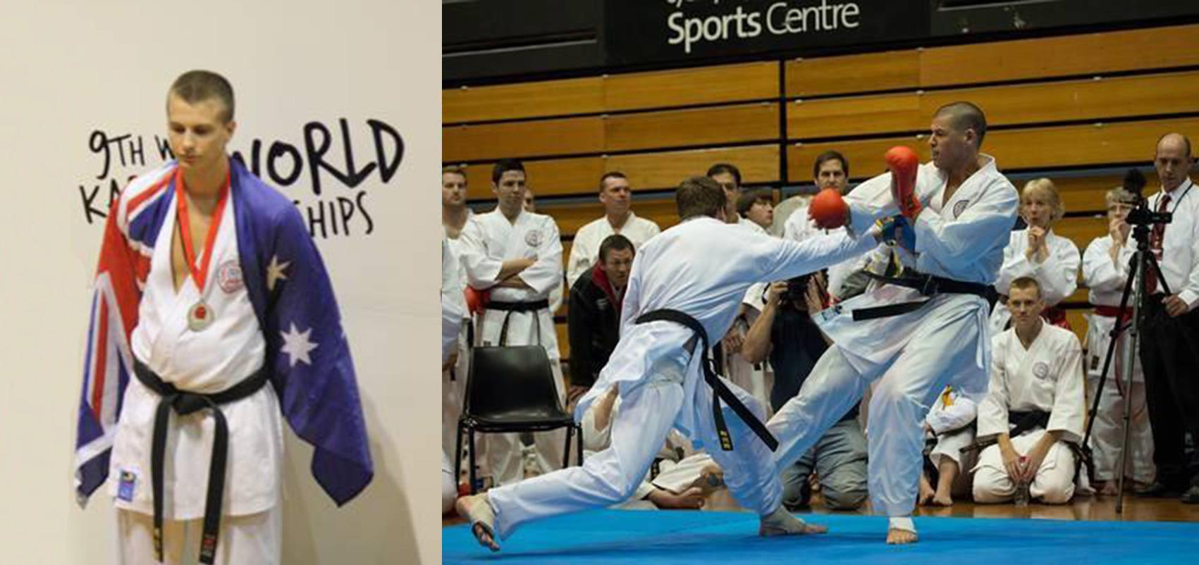 Karate Champion short circuits lengthy rehab